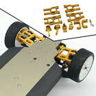 10x Front Back Lower Arm Remote Control Car Toys for LC Racing