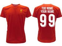 Maglia Personalizzata Liverpool 2020 Ufficiale 2019  adulto bambino Tuo Nome
