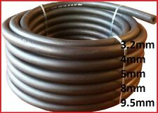 1 m Fuel Pipe Braided Hose Rubber Engine Diesel Petrol Oil,sizes 3.2,4,5,8,9.5mm