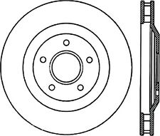StopTech Disc Brake Rotor Front Right for Chevrolet Corvette / Cadillac XLR