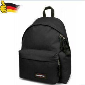 Eastpak Rucksack Schulrucksack Padded Pakr Schwarz Schule Padded Backpack Ranzen