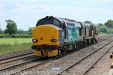 British Rail / DRS 37218 & 20304 (6M63) Rail Photo