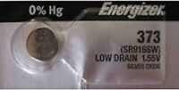 1-ENERGIZER 373 Battery SR916SW Free Ship USA. Best by 2023. Authorized Seller.