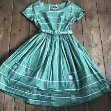 Original 1950's Cotton Polka Dot Dress