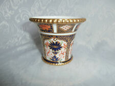 ROYAL CROWN DERBY IMARI 1128 VASE FIRST QUALITY BONE CHINA 1918 VERY RARE GIFT