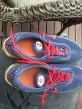Nike Air Max 360 size 13 from 2007. Navy blue with red accents.