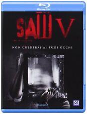 Blu Ray SAW V (5)  - (2008) Non Crederai Ai Tuoi Occhi ......NUOVO