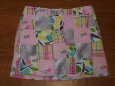 Gymboree Floral Garden madras skirt SKORT girls 5