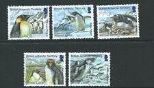 BRITISH ANTARCTIC TERR. SG639/43 2014 PENGUINS (AIRMAIL) MNH