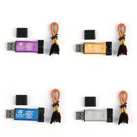 1x ST-Link LINK/V2 (CN) STLINK STM8 STM32 SSB Mini Downloader Programmer SS