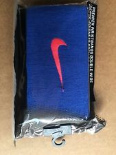 Nike Premier Double -Wide Wristbands - Comes with 2 Wristbands -blue