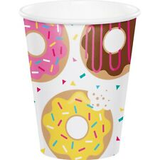 Donut Time Birthday Party Supplies Cup