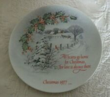 "American Water Color Society Winterscene Series Iii Robert Laessig Plate 8"" D"