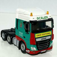 "DAF XF Space Cab 6x2 ""Scales"" WSI truck models"