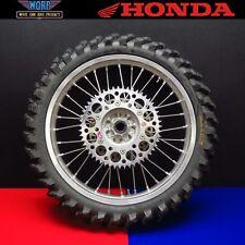 2002 Honda CR250 Rear Back Wheel Assembly Hub Tire Rim CRF450 CRF250 CR125 02-13