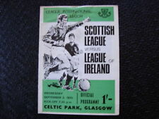 Away Teams C-E Celtic Scottish League Football Programmes