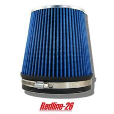 """Blue Universal Short Cone Truck Cold Air Filter Replacement (6"""" / 152 mm)"""