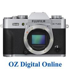 NEW Fujifilm X-T20 Body Silver 24MP 4K Wifi Digital Camera 1 Yr Aus Wty