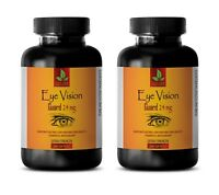 zeaxanthin - EYE VISION GUARD - bilberry extract powder - 400 Softgels 2 Bottles