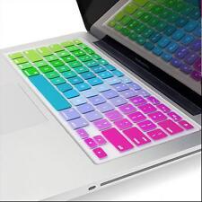 Rainbow Keyboard Cover Skin US Model for Macbook Air 13'' Macbook Pro 13'' 15''