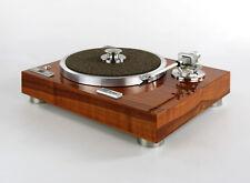 Restaurierter & Modifizierter Kenwood KD 770D Plattenspieler Edelholzfurnier