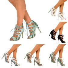 Zapatos de tacón de mujer de color principal negro sintético