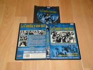 LA FAMILIA Y UNO MAS EN DVD CLASICO DEL CINE ESPAÑOL UN FILM DE PEDRO MASÓ