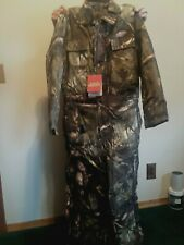 Hunting Sportswear Large Youth Insulated 6 Pocket Coveralls Camo New With Tags