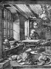 ALBRECHT DURER HIERONYMUS ST JEROME IN HIS STUDY OLD ART PRINT 076OMA