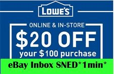 photograph relating to Lowes 50 Off 250 Printable Coupon called Lowes Discount coupons for sale eBay