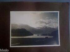 A1016 Photographie Originale Suisse Engadine ancienne photo