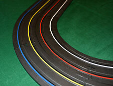 HO & 1/32 Scale Slot Car Track 4 Lane Marking and Finish Line Tape