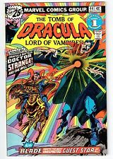 Marvel TOMB OF DRACULA #44 1976 VF Vintage Comic