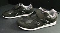 Omega Men's Comfort Zone Black Athletic Shoes/Sneakers, Size 9D