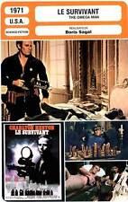 FICHE CINEMA : LE SURVIVANT - Heston,Zerbe,Sagal 1971 The Omega Man