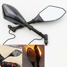 Carbon Mirrors LED Turn Signal for Suzuki Boulevard C50 C90 C109R M109R M50 M90