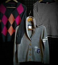 Tommy Hilfiger Womens Size S Sweater Cardigan And Cotton Shirt Lot Of 3