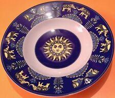 Piatti da cucina blu in porcellana
