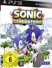 Playstation 3 Sonic Generations allemand guterzust.