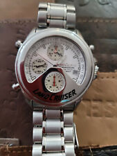 Limited Edition Seiko Toyota Land Cruiser Watch Stainless Steel LC008 White Dial