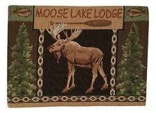 Lake Moose Lodge Tapestry Placemats Set of 4