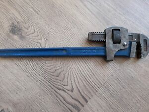 "Vintage Record 18"" Stilsons Pipe Wrench"