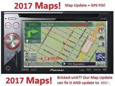 Pioneer AVIC-F900BT/AVIC-F90BT/AVIC-F700BT 2017 Map Update & Reparatur Premier