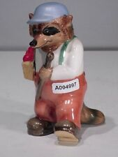 +# A004997_01 Goebel Archiv Muster Ringtale Raccoon Waschbär Old Crank mit Stock