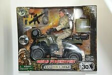 """World Peacekeepers 1/6 Scale ATV Dirt Bike 12"""" Action Figure Toy New in Box"""