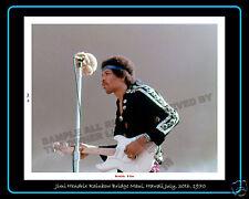 Jimi Hendrix Maui & Atlanta Pop July, 1970 8 X 10 Limited Originals Atl Ticket