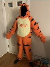 Disney Store Winnie the Pooh and TIGGERFuzzy Plush Full Body CostumeAdult Sm