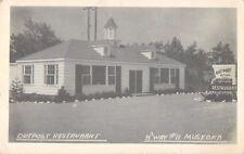 c1950 Outpost Restaurant, Highway 11, Muskoka, Ontario, Canada Postcard