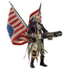 Bioshock Infinite Motorized Patriot Benjamin Franklin NECA Action Figure