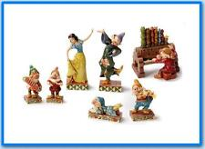 Jim Shore Snow White and Seven Dwarfs Music and Dance set Disney Traditions